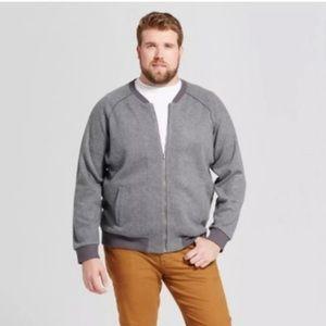 Men Goodfellow & Co Bomber Zip Fleecy Jacket XXL